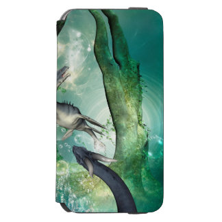 Awesome seadragon iPhone 6/6s wallet case