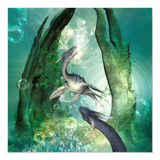 Awesome seadragon magnetic card