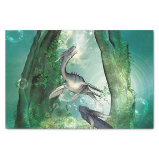 Awesome seadragon tissue paper