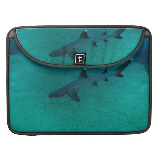 Awesome Shark in the Deep MacBook Pro Sleeves