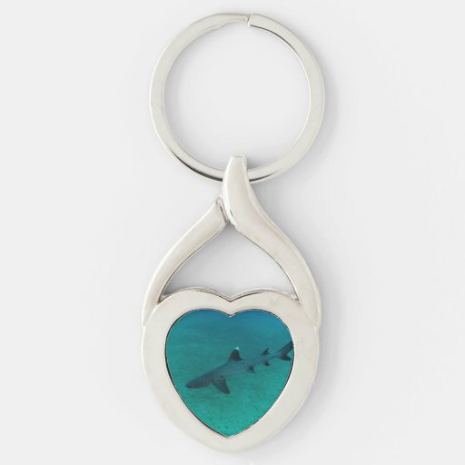Awesome Shark in the Deep Key Chains