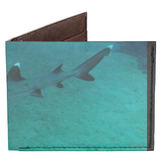 Awesome Shark in the Deep Tyvek Wallet