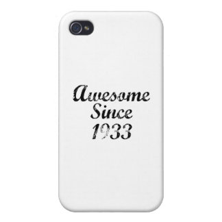 Awesome Since 1933 iPhone 4 Case