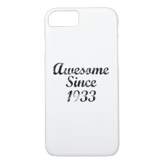 Awesome Since 1933 iPhone 8/7 Case