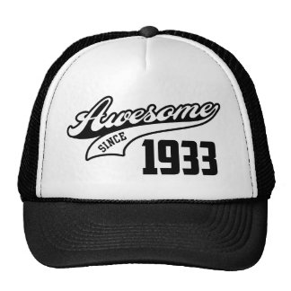 Awesome Since 1933 Trucker Hat
