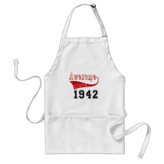 Awesome Since 1942 Adult Apron