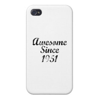 Awesome Since 1951 iPhone 4/4S Case