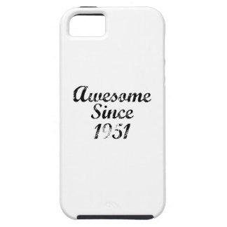 Awesome Since 1951 iPhone SE/5/5s Case