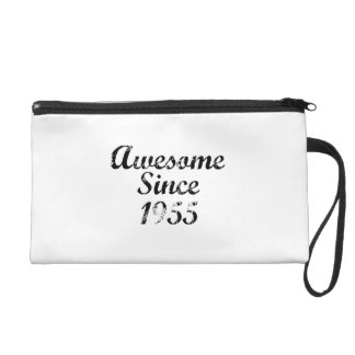 Awesome Since 1955 Wristlet Clutches