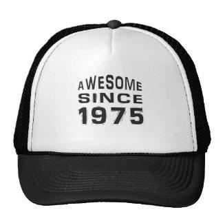 Awesome since 1975 gorras de camionero