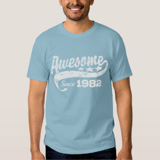 Awesome Since 1982 T Shirt