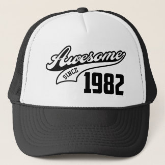 Awesome Since 1982 Trucker Hat