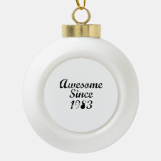 Awesome Since 1983 Ornament