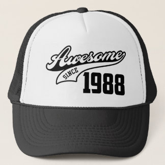 Awesome Since 1988 Trucker Hat