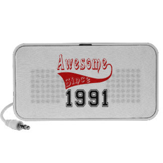 Awesome Since 1991 Portable Speaker