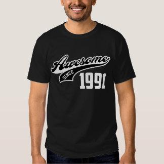 Awesome Since 1991 Tee Shirt