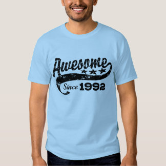 Awesome Since 1992 T Shirt