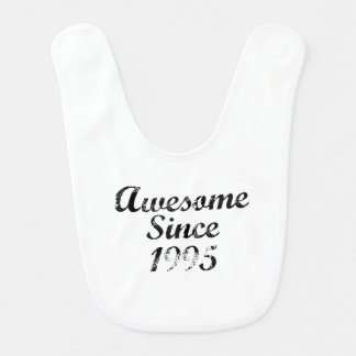 Awesome Since 1995 Baby Bibs