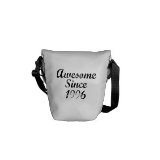 Awesome Since 1996 Messenger Bags
