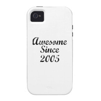 Awesome Since 2005 iPhone 4/4S Cases