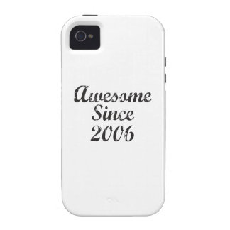 Awesome Since 2006 iPhone 4 Cases