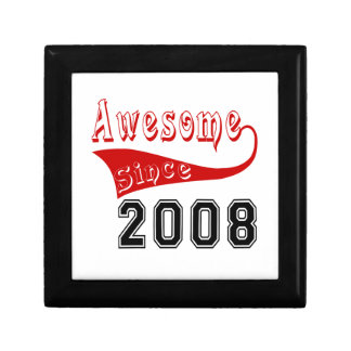 Awesome Since 2008 Gift Box