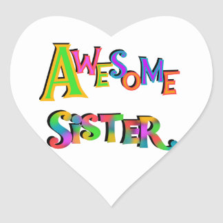Awesome Sister T-shirts and Gifts Stickers