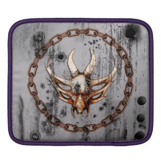 Awesome skull iPad sleeves