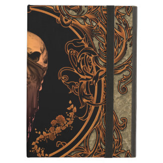 Awesome skull on a frame case for iPad air