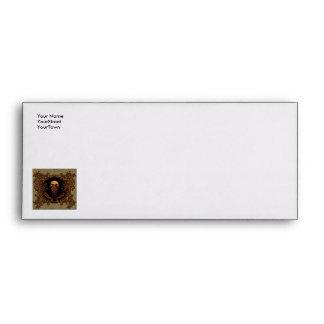 Awesome skull on a frame envelope