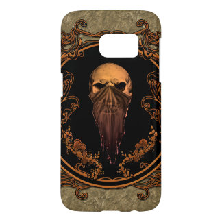 Awesome skull on a frame samsung galaxy s7 case
