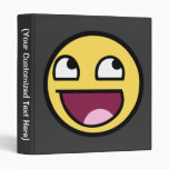 Awesome Smiley Binder