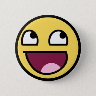 awesome smiley face awesome face button