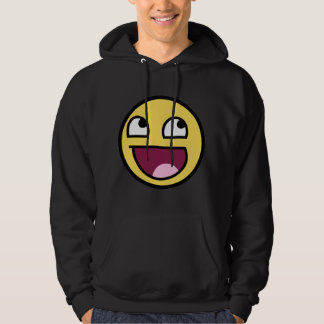 awesome smiley face awesome face hoodie