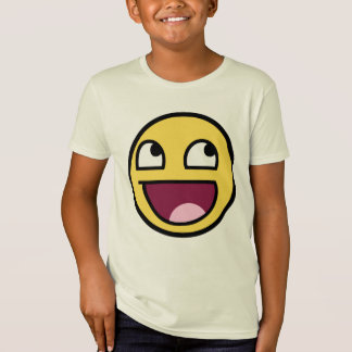 awesome smiley face awesome face T-Shirt