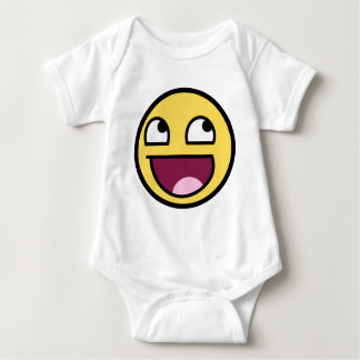 Awesome Smiley Face Baby Bodysuit