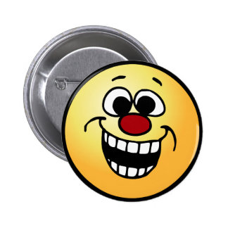 Awesome Smiley Face Grumpey Button