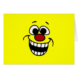 Awesome Smiley Face Grumpey Card