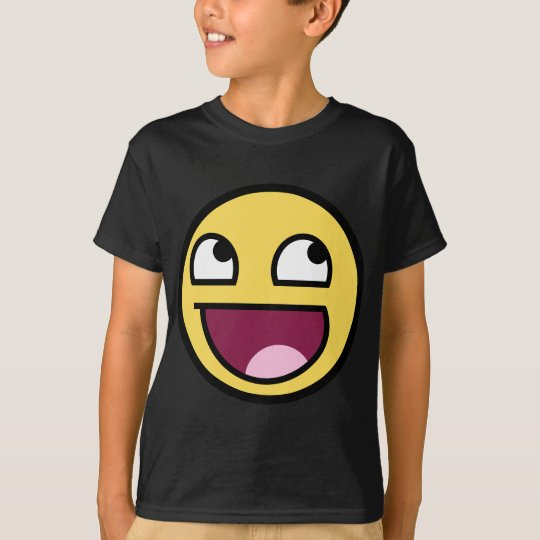Awesome Smiley Face T-Shirt