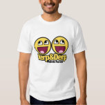 Awesome Smiley Herp and Derp T-shirts