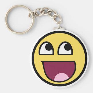 Awesome Smiley Internet Meme Keychain
