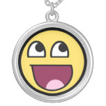 Awesome Smiley Internet Meme Necklaces