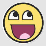 Awesome Smiley Internet Meme Sticker