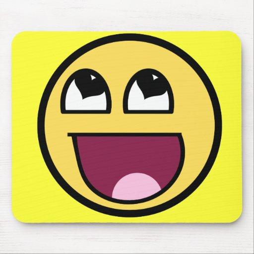 Awesome Smiley Mousepad