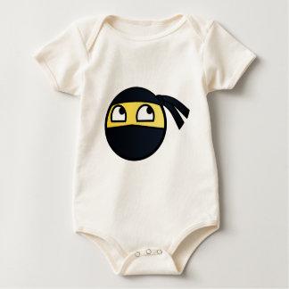 Awesome Smiley Ninja - Meme Baby Bodysuit