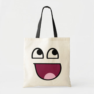 Awesome Smiley Tote Bag