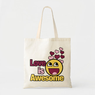 Awesome Smiley Tote Bag