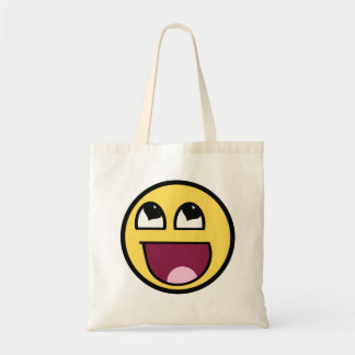 Awesome Smiley tote for Vday