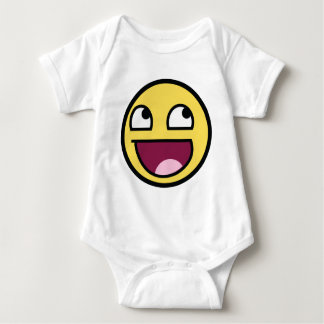 Awesome Smily Face Baby Bodysuit