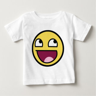 Awesome Smily Face Baby T-Shirt